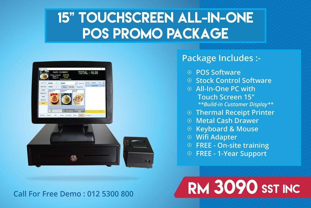 P O S System (Point Of Sales) | Synergy Software Solutions SDN BHD